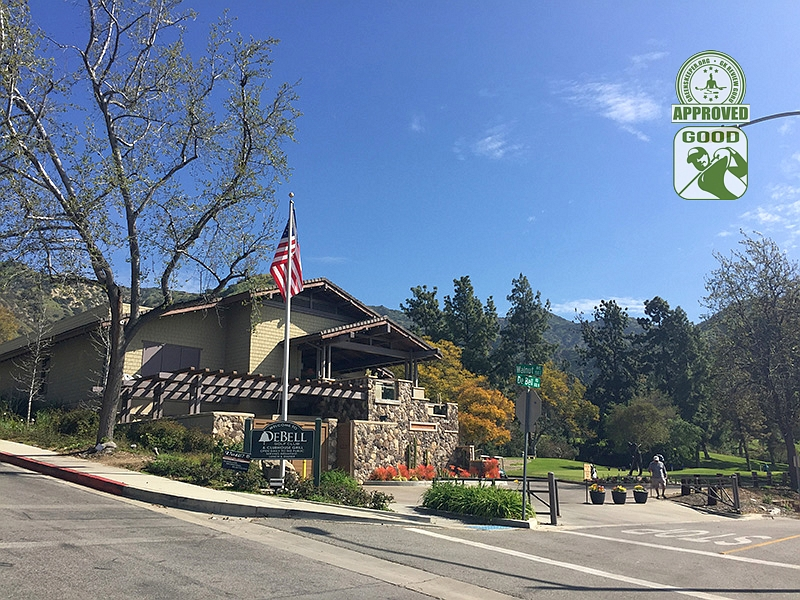 DeBell Golf Club Burbank California GK Review Guru Visit - Clubhouse