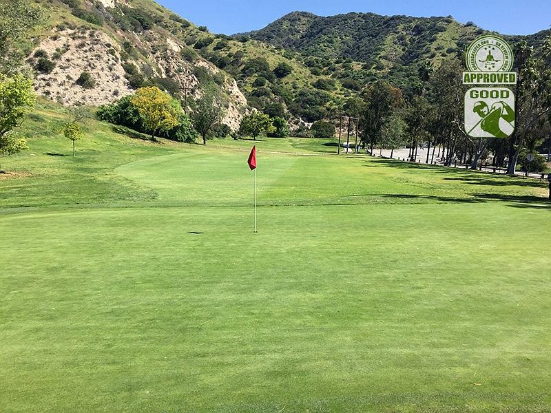 DeBell Golf Club Burbank California GK Review Guru Visit - Hole 6