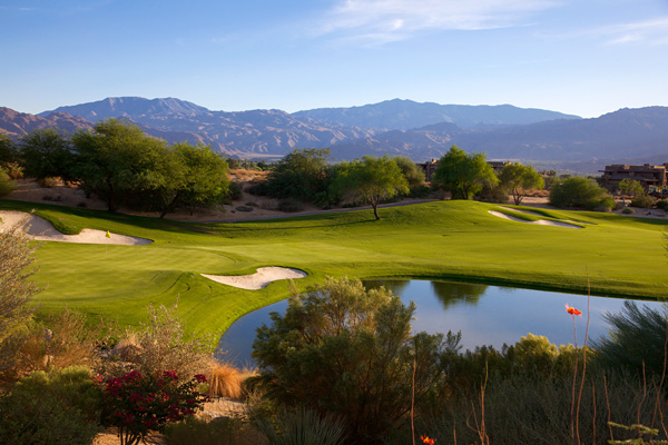 Desert Willow Golf Resort MOUNTAIN VIEW Course Palm Desert California Hole 18