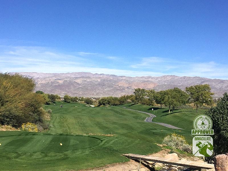 Eagle Falls Golf Course Indio California GK Review Guru Visit Hole 10