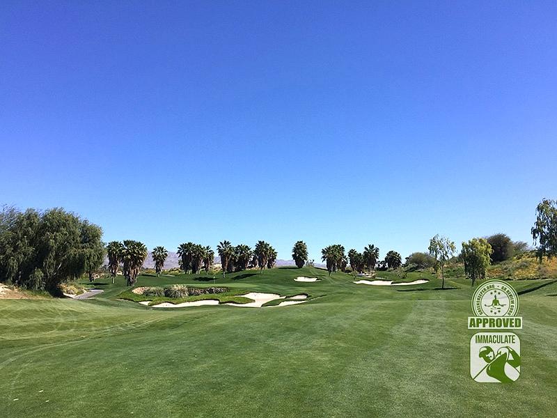 Eagle Falls Golf Course Indio California GK Review Guru Visit Hole 7