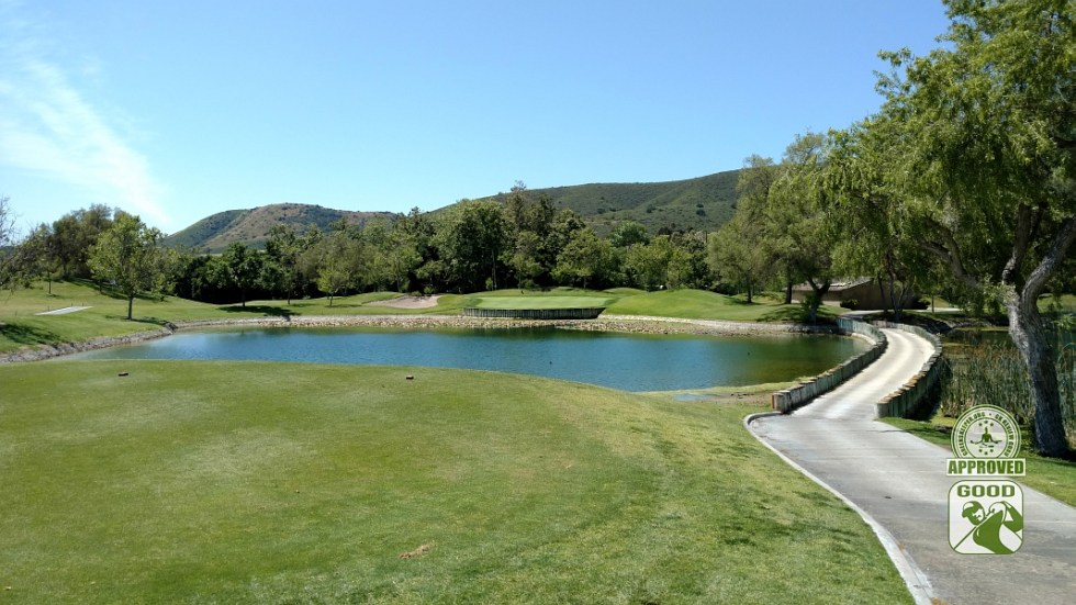 Twin Oaks Golf Course San Marcos California Hole 7 Tee Box View