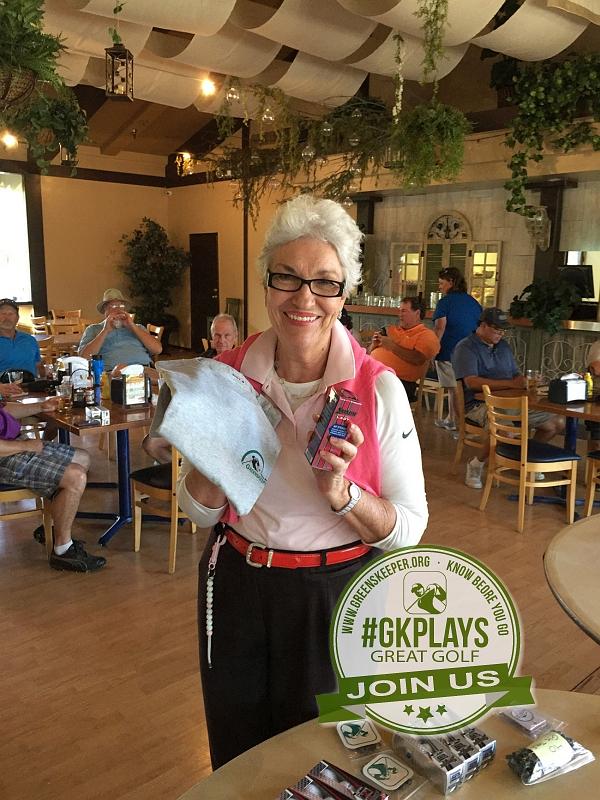 Boulder Oaks Golf Club Escondido California Congrats Alletta GK T-Shirt + Srixon Balls