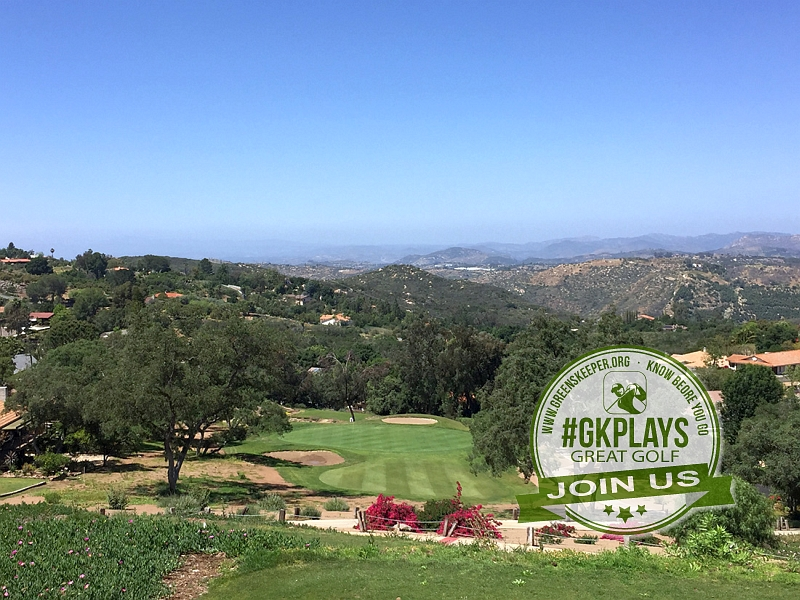 Boulder Oaks Golf Club Escondido California Hole 13