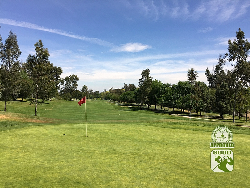 Los Serranos Country Club Chino Hills California Hole 8