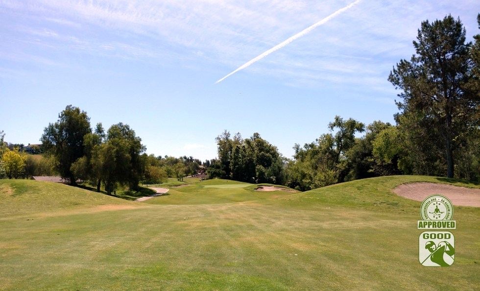 Twin Oaks Golf Course San Marcos California Hole 4 Approach