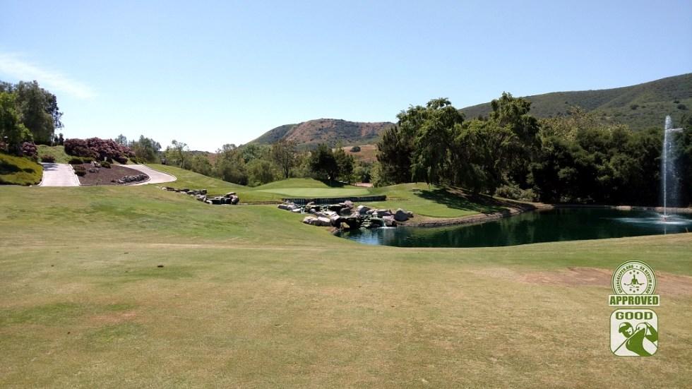 Twin Oaks Golf Course San Marcos California Hole 9 Approach