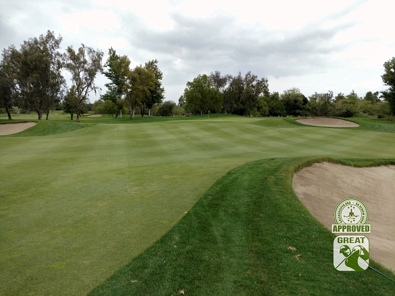 Goose Creek Golf Club Mira Loma California GK Review Guru Visit - Hole 10 Approach