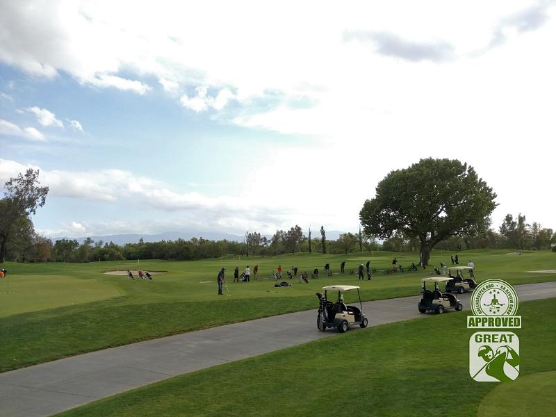 Goose Creek Golf Club Mira Loma California GK Review Guru Visit - Massive Range and short-game complex