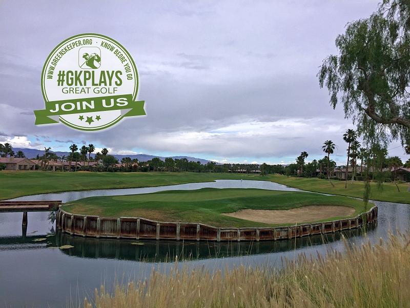 PGA WEST Nicklaus Tournament La Quinta California Hole 15