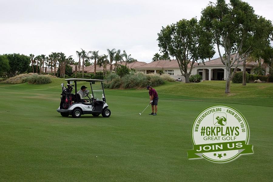 PGA WEST Nicklaus Tournament La Quinta California RGM2525 makes his approach shot