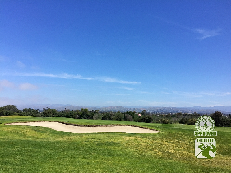 River Ridge Golf Course VINEYARD Oxnard California, GK Review Guru - Hole 1