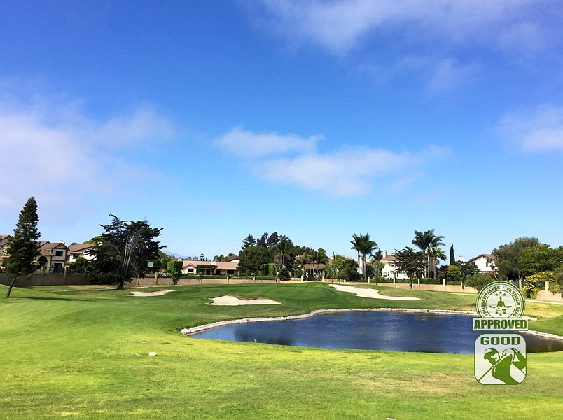 River Ridge Golf Course VINEYARD Oxnard California, GK Review Guru - Hole 17