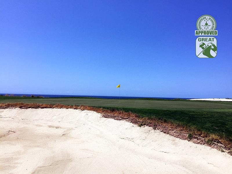 Sandpiper Golf Course Goleta California GK Review Guru Visit - Hole 6 Green-side