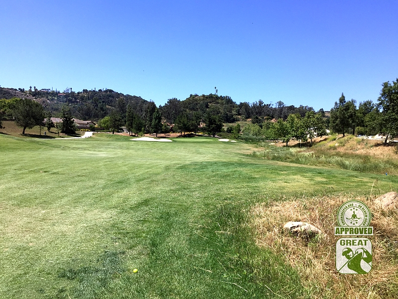 Woods Valley Golf Club Valley Center California. GK Review Guru Visit - Hole 9