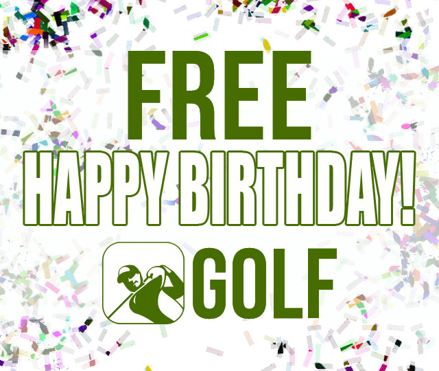 FREE Birthday Golf
