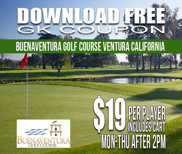 Buenaventura Golf Course GK Coupon