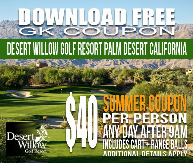Desert Willow Golf Resort GK Coupon