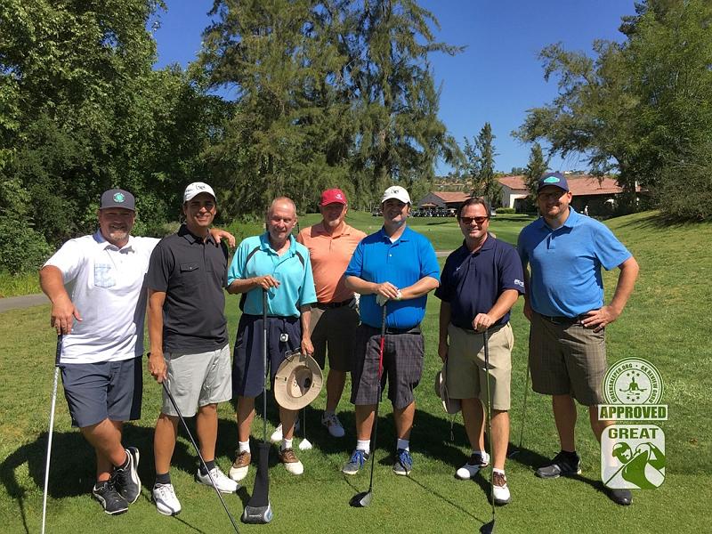 Golf Club of California Fallbrook GK Review Guru group photo