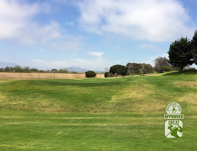 River Ridge Golf Club Vineyard Course Oxnard California GK Review Guru Hole 8