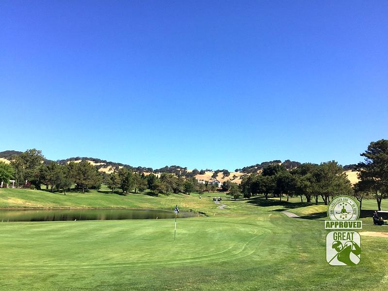 Rancho Solano Golf Course Fairfield California Hole 12