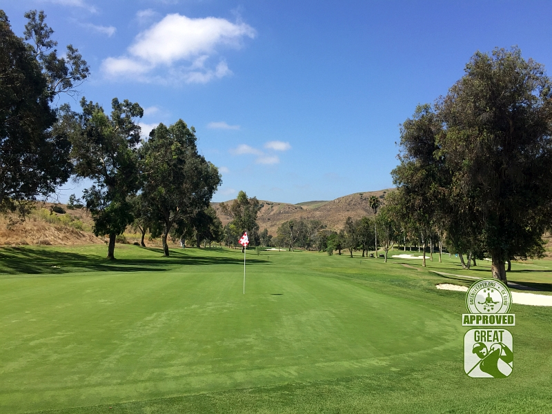 Marine Memorial Golf Course Camp Pendleton California. Hole 13
