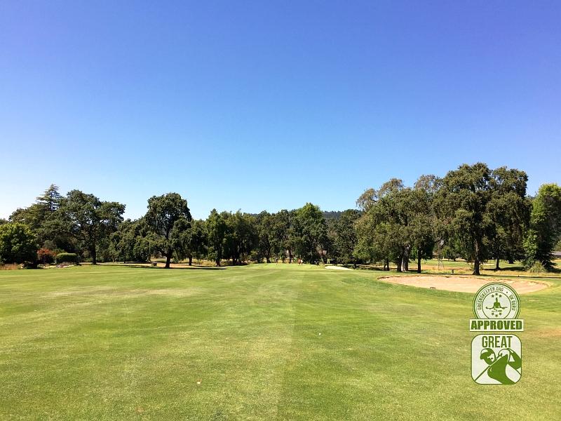 Oakmont Golf Course WEST Santa Rosa California Hole 1