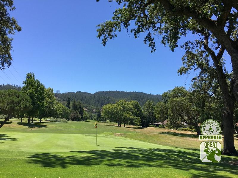 Oakmont Golf Club WEST Santa Rosa California Hole 10