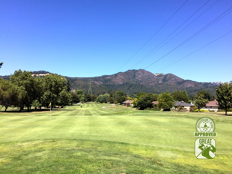 Oakmont Golf Club WEST Santa Rosa California Hole 18