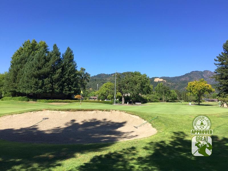 Oakmont Golf Club WEST Santa Rosa California Hole 3