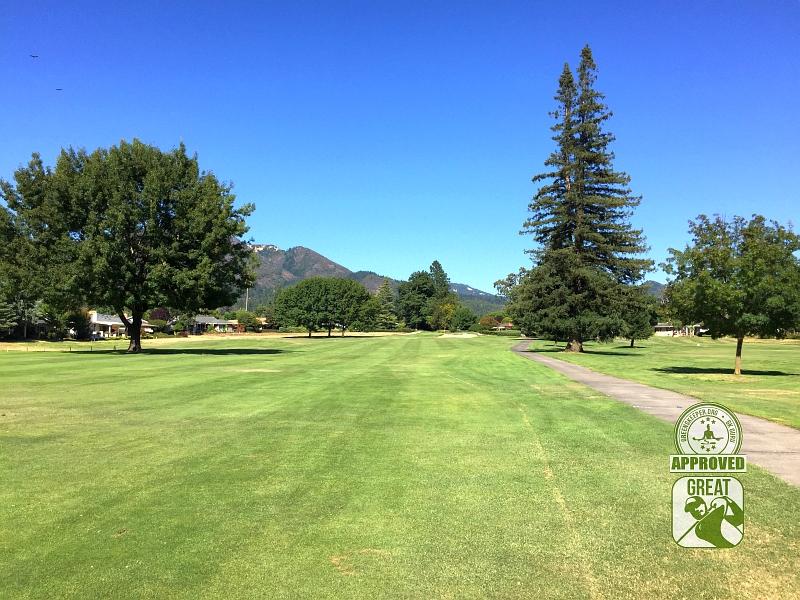 Oakmont Golf Club WEST Santa Rosa California Hole 7