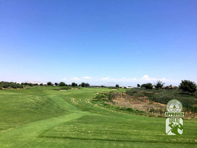 Ridge Creek Dinuba Golf Club Dinuba California - Hole 13