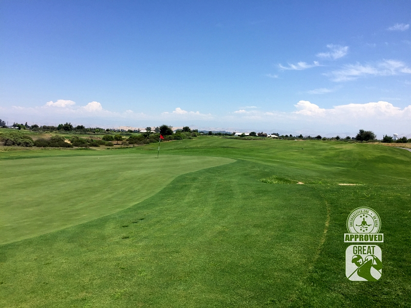 Ridge Creek Dinuba Golf Club Dinuba California - Hole 14