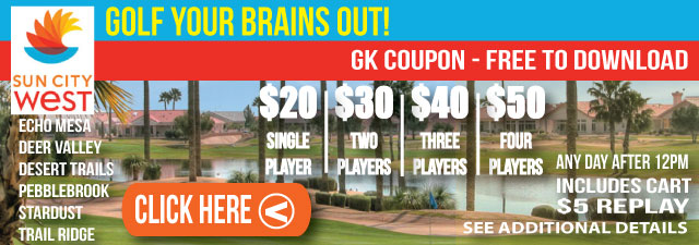 Sun City West Arizona GK Coupon