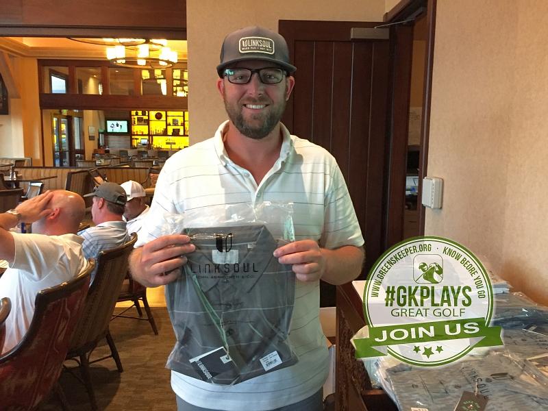 Yocha Dehe Golf Club Brooks CA Alex Pisarski sports his Linksoul SWAG