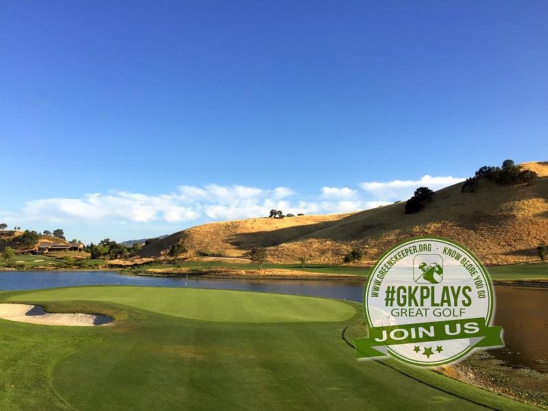 Yocha Dehe Golf Club Brooks CA Hole 17