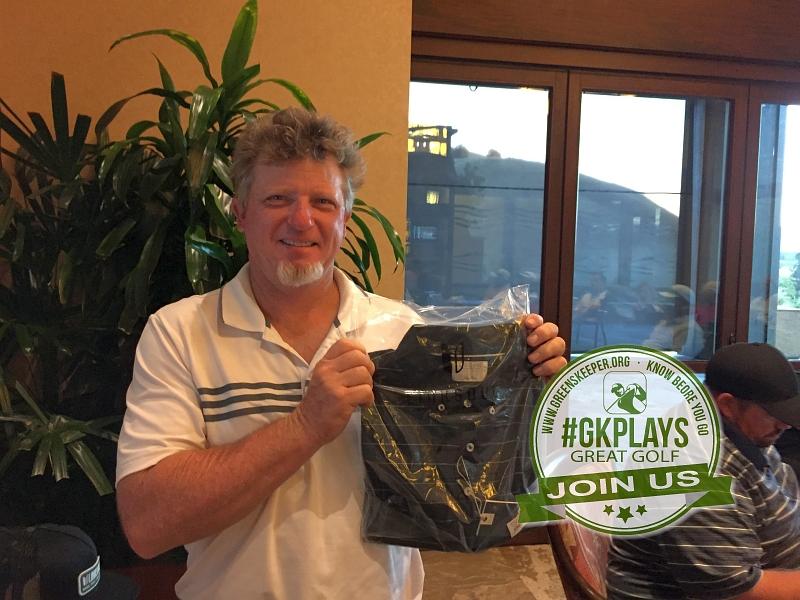 Yocha Dehe Golf Club Brooks CA Tim George shows off his LINKSOUL SWAG