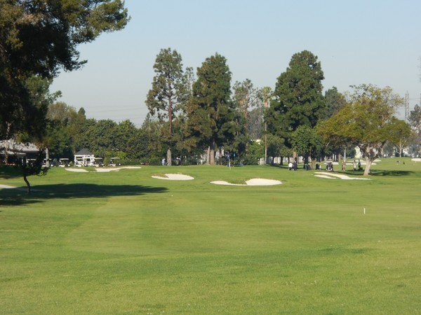Los Amigos Golf Course Downey California Hole 9 Par 3
