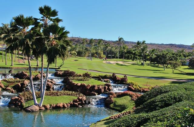 Ko'Olina Golf Club Kapolei Hawaii. Hole 12