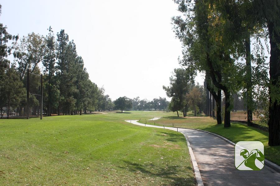 Santa Anita Golf Course Arcadia CA Hole 1