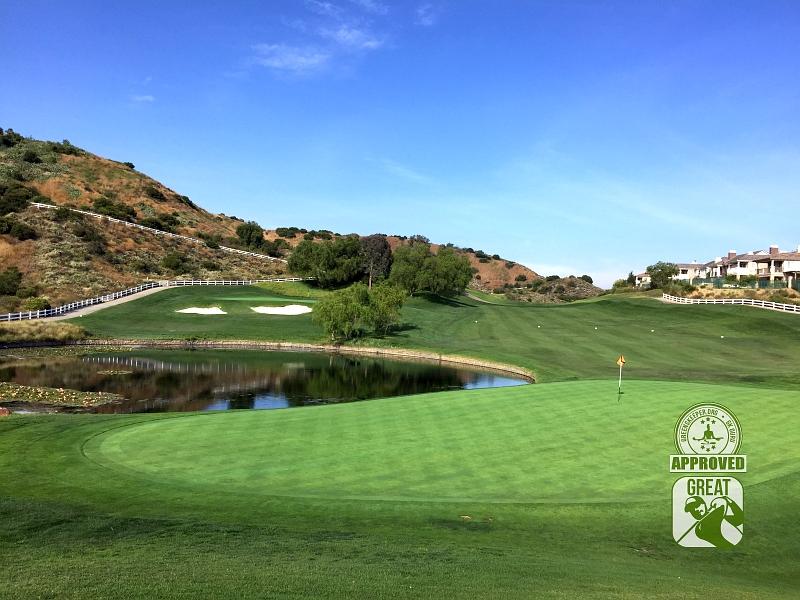 Black Gold Golf Club Yorba Linda California GK Guru Visit -Holes-10 & 18