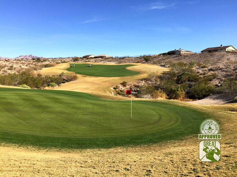 Laughlin Ranch Golf Club Bullhead City Arizona Hole 14