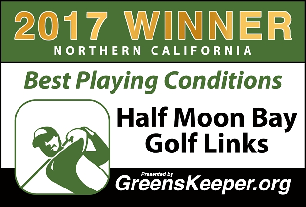 Best Playing Conditions 2017 Half Moon Bay Golf Links - Northern California