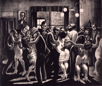 Harlem Rent Party by Mabel Dwight 1929