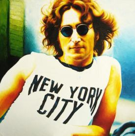 John Lennon NYC by Loris Lora