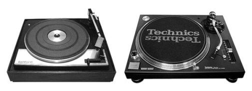 Garrard and the later Technics turntable