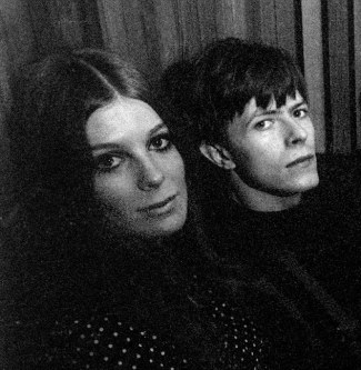 David Bowie & Hermione Farthingale
