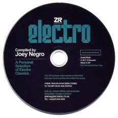 Joey Negro Electro CD