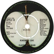 Plastic Ono Band 'Remember Love'