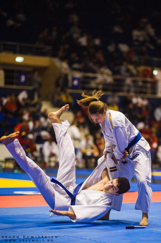 Competiția de Duo - Campionatul Balcanic de Ju-Jitsu - Fotograf sport Radu Dumitrescu